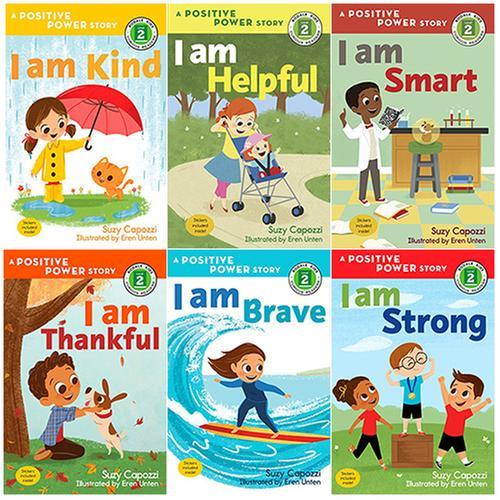 [원서] Rodale Kids Curious Readers Level 2 : A Positive Power story 시리즈 6종 세트