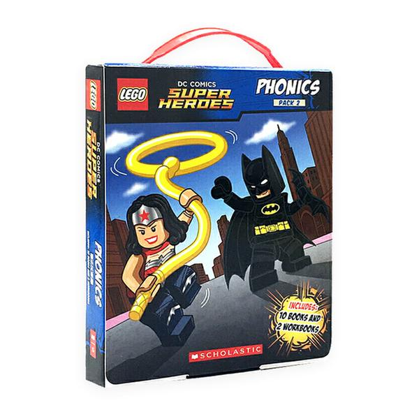 [원서] LEGO DC Super Heroes Phonics Boxed Set #2 (Paperback, 12권) (CD미포함)