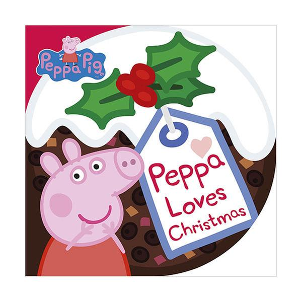 [원서] Peppa Pig : Peppa Loves Christmas (Board Book)