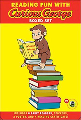 [원서] Green Light Readers : Reading Fun With Curious George Boxed Set