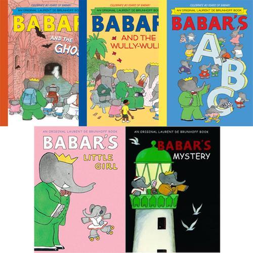 [원서] Babar 시리즈 페이퍼백 5종 세트 세트 Paperback (영미혼합)