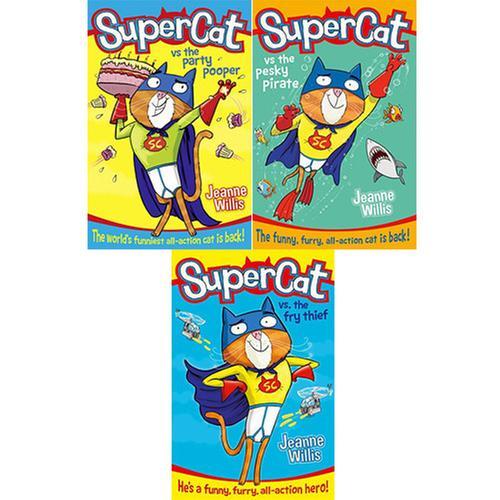 [원서] Supercat 페이퍼백 3종 세트 세트 Paperback (미국판)