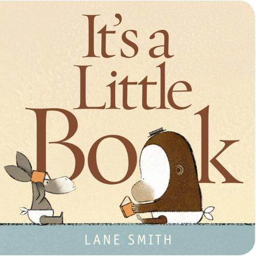 [원서] It's a Little Book Board book (미국판)