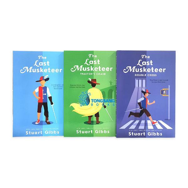 [원서] Last Musketeer 시리즈 챕터북 3종 세트 (Paperback) (CD미포함)