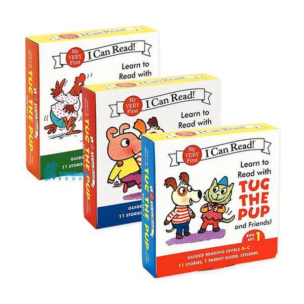 [원서] My Very First I Can Read : Tug the Pup 시리즈 리더스팩 3종 세트 (Boxed Set)