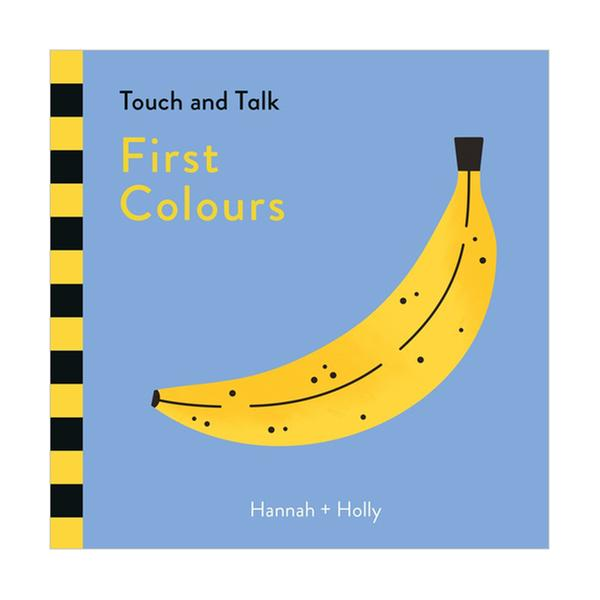 [원서] Touch and Talk : First Colours (Board book, 영국판)