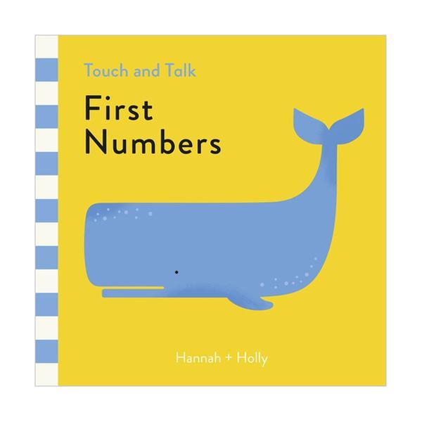 [원서] Touch and Talk : First Numbers (Board book, 영국판)
