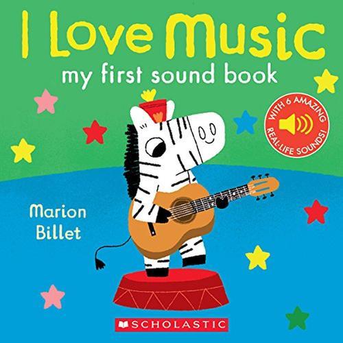 [원서] I Love Music: My First Sound Book 사운드북 Board book (미국판)