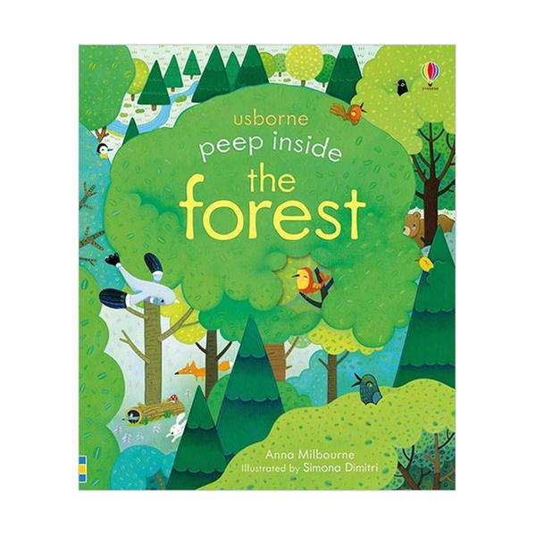 [원서] Usborne Peep Inside : the Forest (Board book, 영국판)