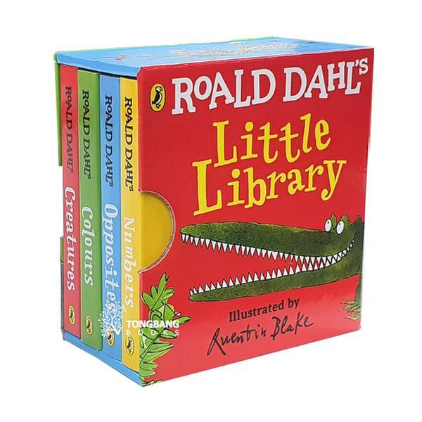 [원서] 로알드 달 Roald Dahl's Little Library (Mini Board book, 4종, 영국판) (CD미포함)