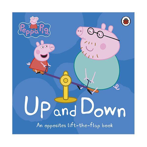 [원서] Peppa Pig : Up and Down : Lift-the-Flap Book (Board book, 영국판)
