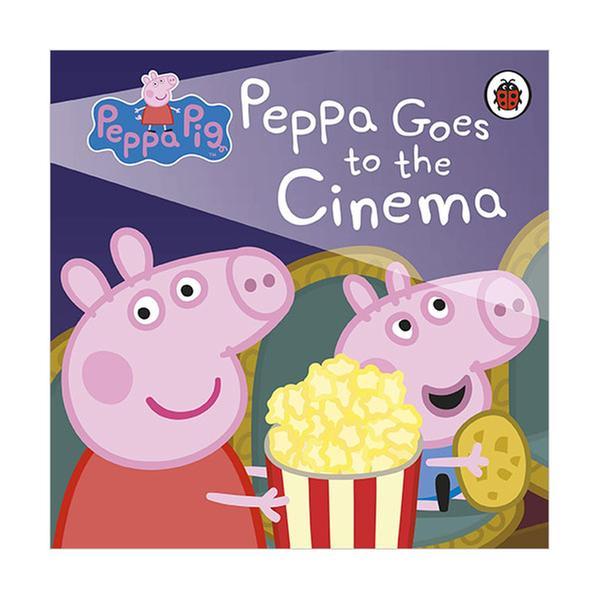 [원서] Peppa Pig : Peppa Goes to the Cinema (Board book, 영국판)
