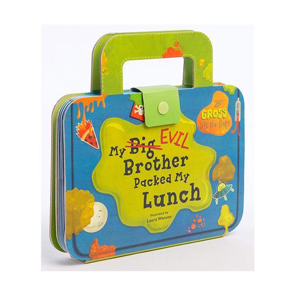 [원서] My Big Evil Brother Packed My Lunch (Board book)