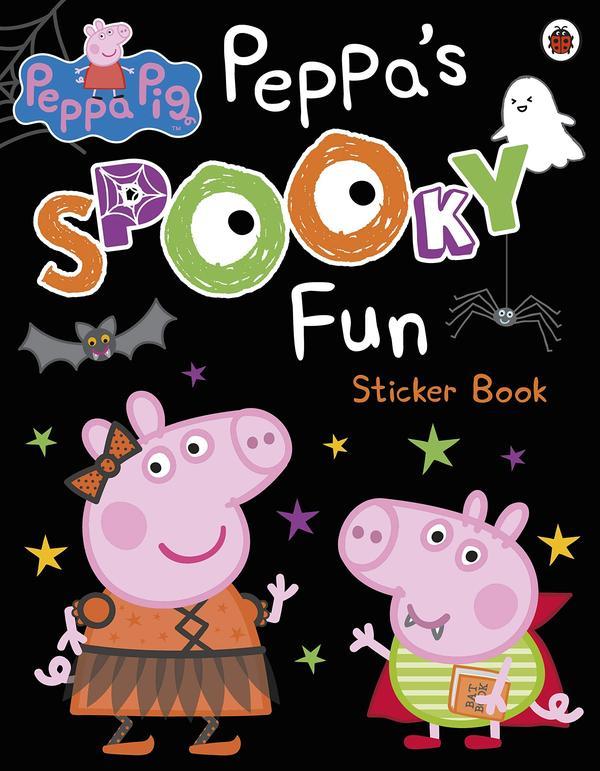 [원서] Peppa Pig: Peppa's Spooky Fun Sticker Book Paperback (영국판)