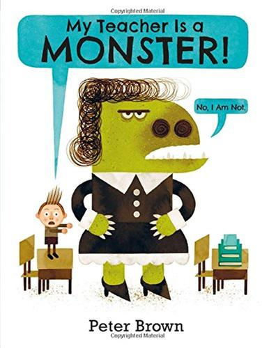 [원서] My Teacher is a Monster!(No, I am not) Paperback (영국판)