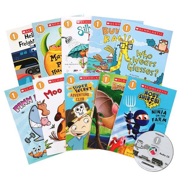 [원서] Scholastic Readers Level 1 Set ( Paperback, 10종 + Audio CD 1개 )