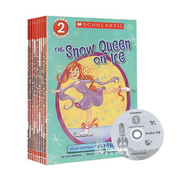 [원서] 스콜라스틱 10종+ CD!! Scholastic Leveled Readers: Level 2 Collection 1 (Book&CD) 10종 세트 (미국판)