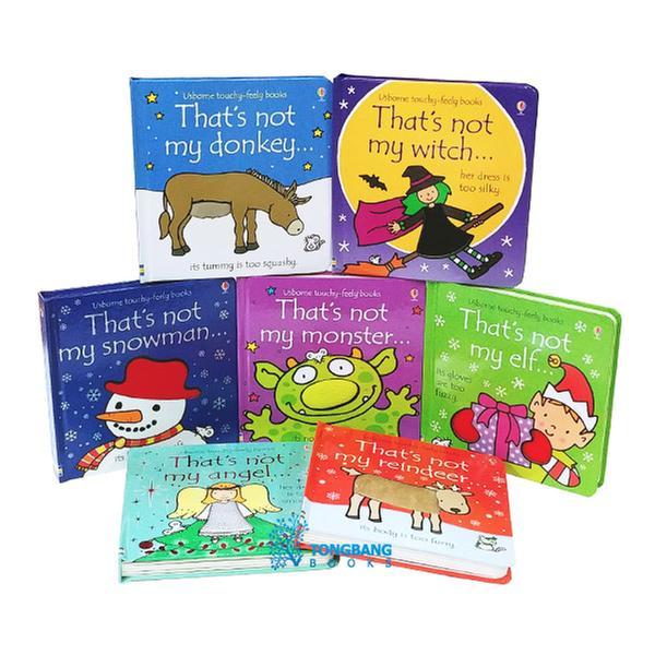 [원서] Touchy Feely Books : That's not my 시리즈 보드북 7종 세트 (Board book, 영국판)