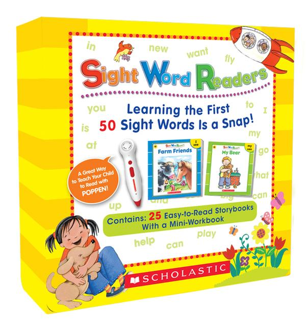 [원서] Sight Word Readers (Book+CD) Boxed Set : 팝펜에디션(팝펜미포함) 세트 Paperback +CD Boxed Set (미국판)