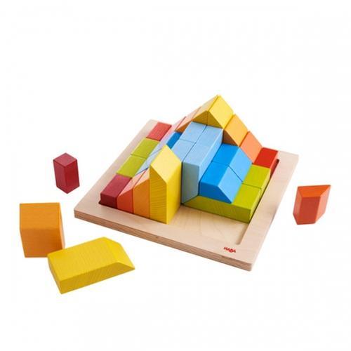 [교구] 하바 - 3D 창의 원목 블록(인지/공감각 발달)