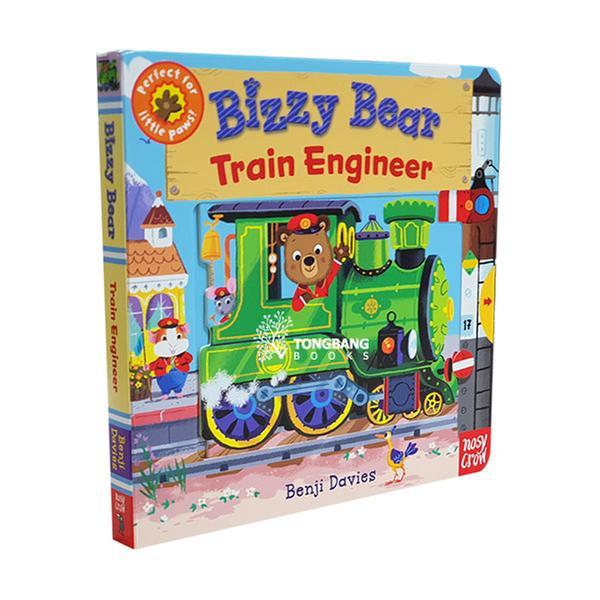 [원서] Bizzy Bear : Train Engineer (Board book)