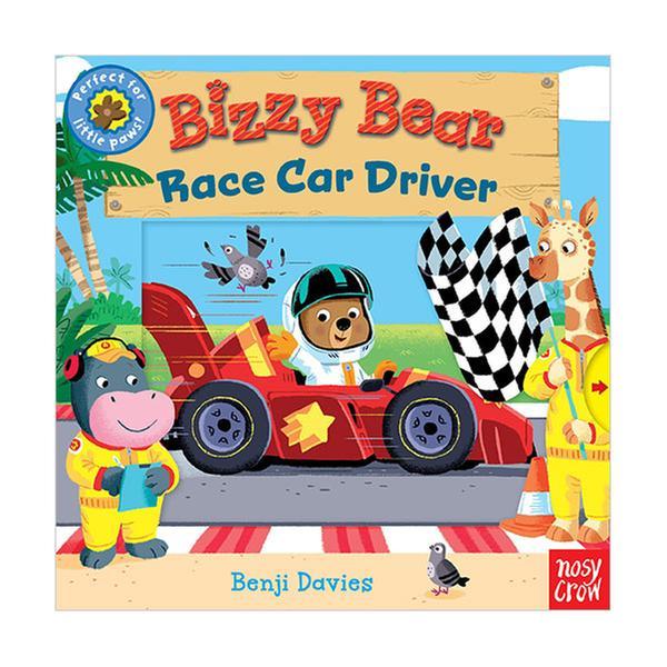 [원서] Bizzy Bear : Race Car Driver (Board book)
