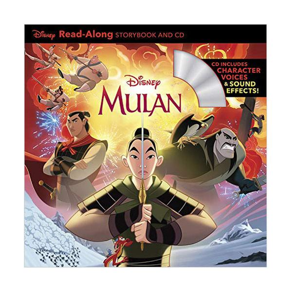 [원서] Read-Along : Mulan (Book & CD)