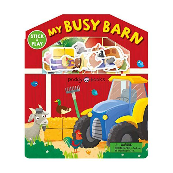 [원서] Stick and Play: My Busy Barn (Magic Sticker Play and Learn) (Board book)