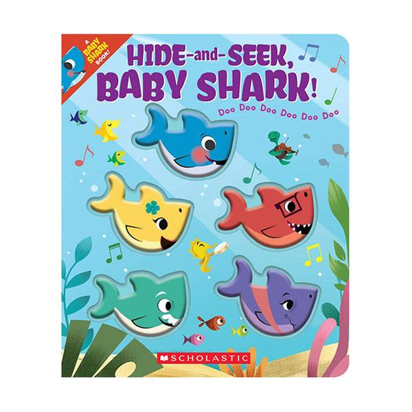 [원서] Hide-and-Seek, Baby Shark! (Hardcover)
