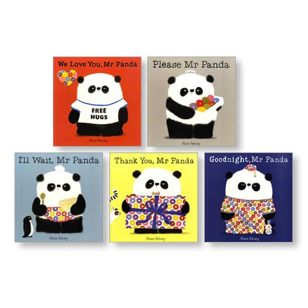 [원서] Mr. Panda 5-book Shrink-wrapped set