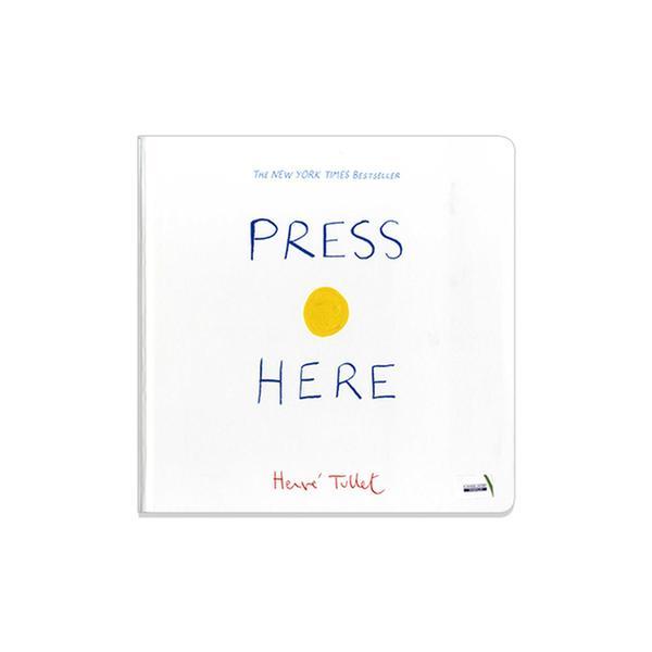 [원서] 에르베 튈레 Press Here (Hardcover)