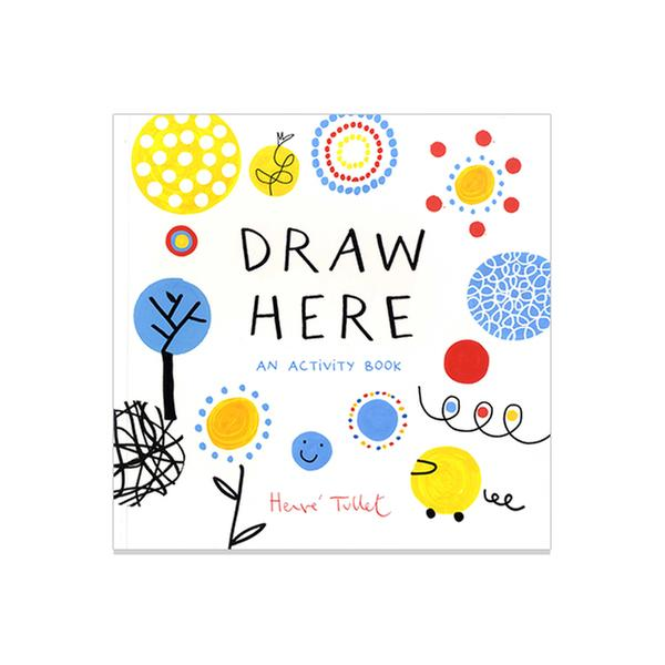 [원서] 에르베 튈레 Draw Here: An Activity Book (Paperback)