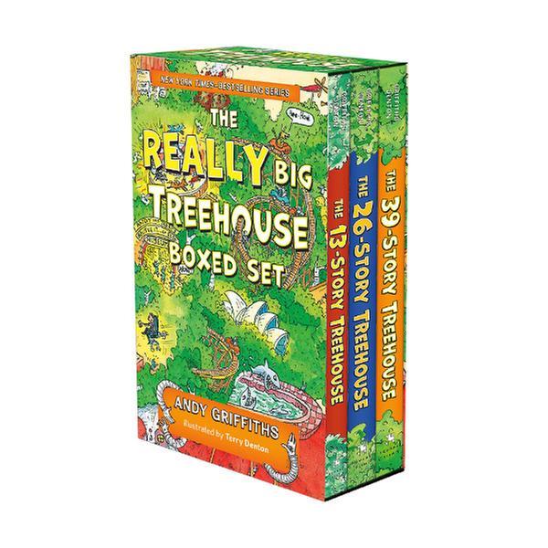 [원서] 나무집 13-39층 : The Really Big Treehouse Books Boxed Set (Paperback, 3종, 미국판) (CD미포함)