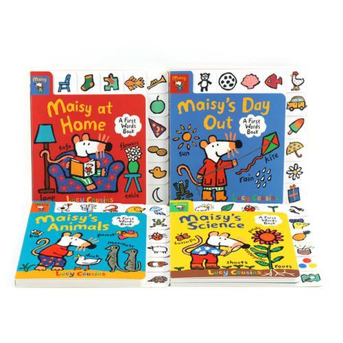 [원서] Maisy : A First Words Book 시리즈 보드북 4종 세트