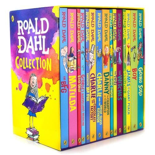 [원서] Roald Dahl 15종 박스 Phizz Whizzing Gift Set / Paperback boxed set (영국판)