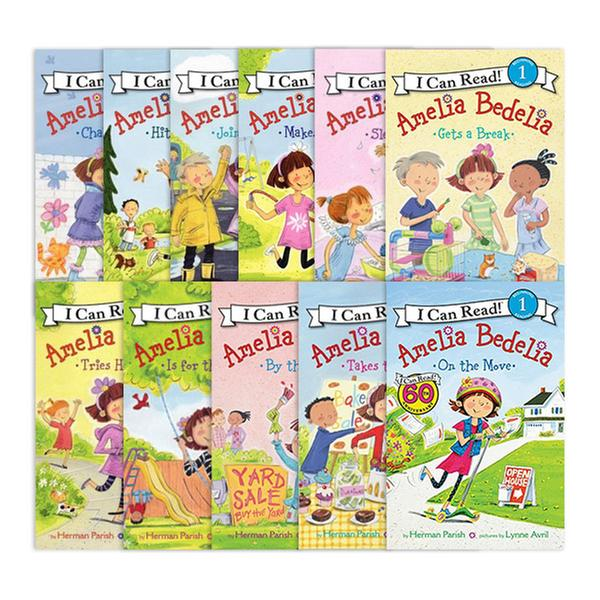 [원서] I Can Read Level 1 : Amelia Bedelia 리더스북 11종 세트 (Paperback) (CD 미포함)