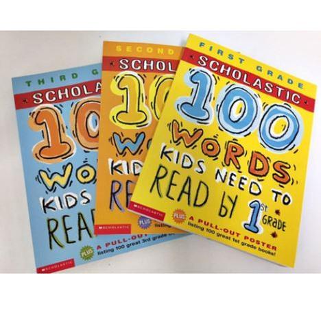 [원서] 3단계 스콜라스틱 100 Words Kid Need To Read