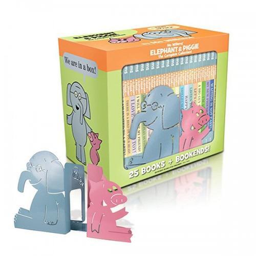 [원서] 정품 Elephant & Piggie The Complete Collection 픽쳐북 하드커버 25종 박스 Set (CD없음)