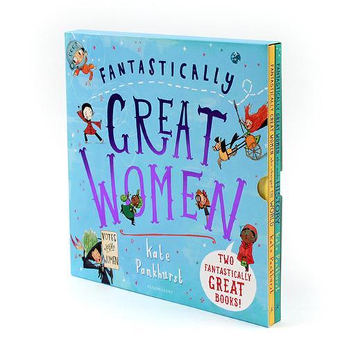 [원서] 위대한 여성들의 이야기 Fantastically Great Women Collection 페이퍼백 2종 세트