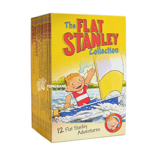 [원서] Flat Stanley 12 Book Collection (Paperback, 12종, 영국판) (CD 미포함)