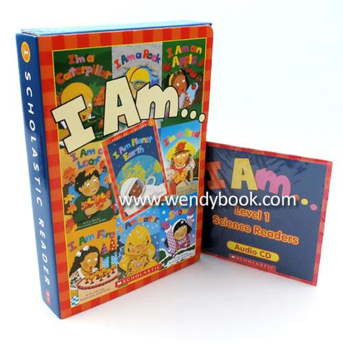 [원서] Scholastic Reader Level 1: I Am Series Box Set (9 Books with CD)