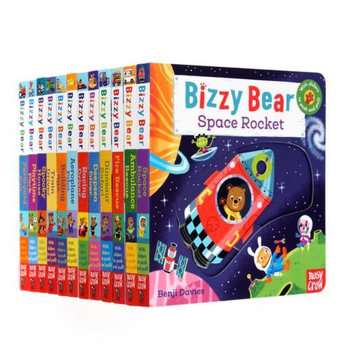 [원서] 비지베어 Bizzy Bear 시리즈 12권