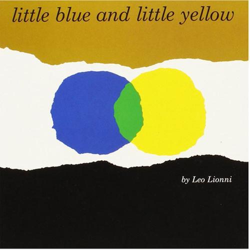 [원서] 파랑이와 노랑이 Little Blue and Little Yellow / Board book (미국판) 작가 레오리오니