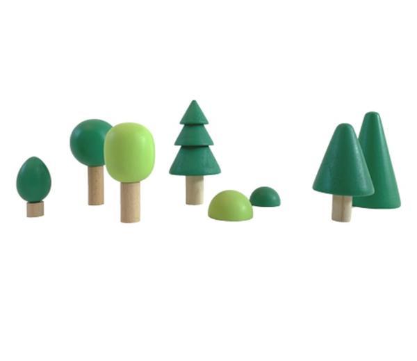[교구] 포레스트 숲 원목 블럭세트(발도르프 교구)