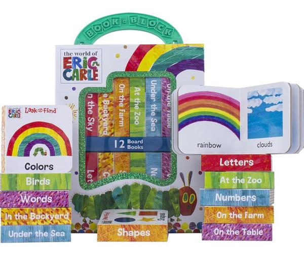 [원서] 에릭칼 World of Eric Carle : My First Library Board Book Block 12 Book Set