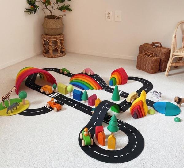 [교구] 플레이로드 - 도로 놀이 장난감(40pcs)