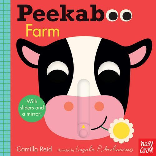 [원서] Peekaboo Cow 거울 조작 보드북