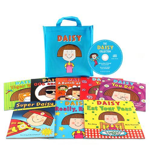 (원서)Daisy Bag: 데이지 (Book & CD) 8종 세트 (에코백 포함)
