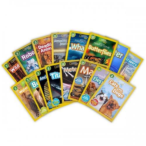 [원서] National Geographic Kids 리더스북 3단계 16종 세트 (Paperback)