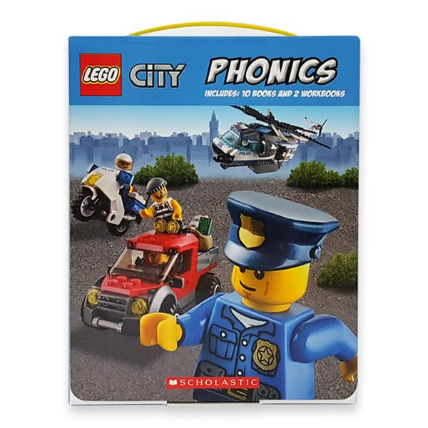 (원서)LEGO City Phonics 12종 파닉스 Boxed Set (Paperback)(CD없음)